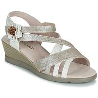 Topánky Ženy Sandále Damart 61170 Strieborná