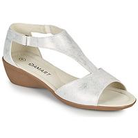 Topánky Ženy Sandále Damart 49019 Strieborná