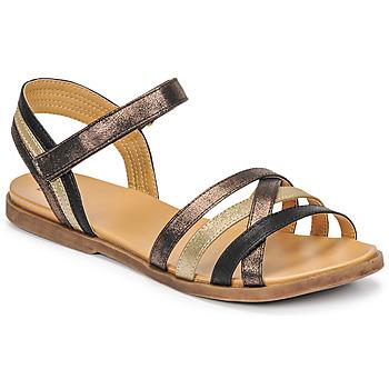 Topánky Dievčatá Sandále Bullboxer ALM003F1S-ROSE Čierna
