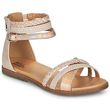 Topánky Dievčatá Sandále Bullboxer ALM013F1S-ROGO Ružová
