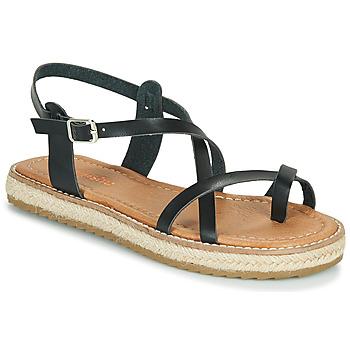 Topánky Ženy Sandále Emmshu ALTHEA Čierna