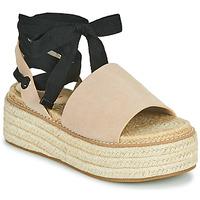 Topánky Ženy Sandále Emmshu SEARA Piesková