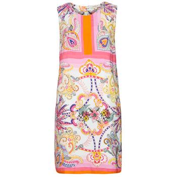 Oblečenie Ženy Krátke šaty Derhy SEOUL Ružová / Viacfarebná