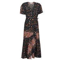 Oblečenie Ženy Dlhé šaty Derhy SUEDE Čierna / Viacfarebná
