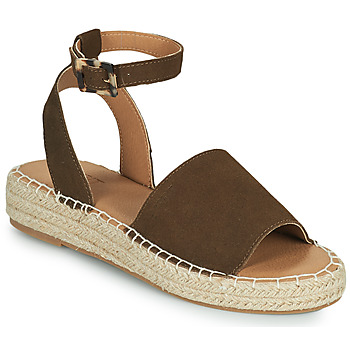 Topánky Ženy Sandále Esprit CLARA Hnedá