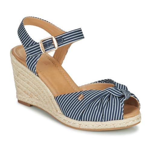 Topánky Ženy Sandále Esprit ELIN Modrá / Biela