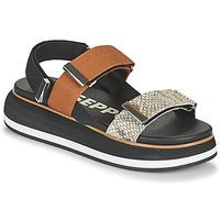 Topánky Ženy Sandále Gioseppo ELICOTT Čierna