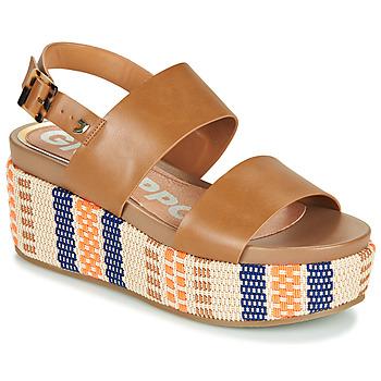 Topánky Ženy Sandále Gioseppo COWLEY Koňaková