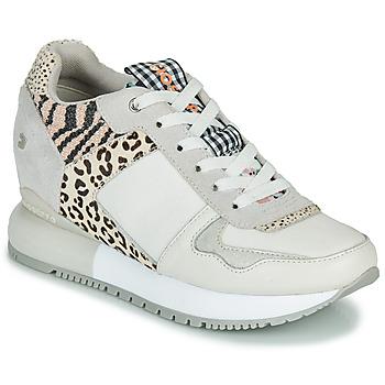 Topánky Ženy Nízke tenisky Gioseppo OVERLAND Biela / Čierna