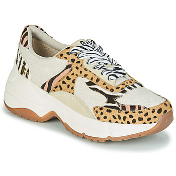 Topánky Ženy Nízke tenisky Gioseppo FORMIA Biela / Leopard