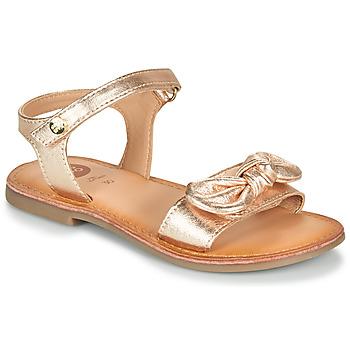 Topánky Dievčatá Sandále Gioseppo CLEBER Ružová / Zlatá