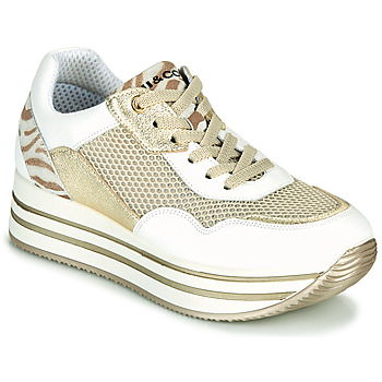 Topánky Ženy Nízke tenisky IgI&CO ALMINTA Biela / Zlatá