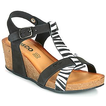 Topánky Ženy Sandále IgI&CO JOULIA Čierna / Biela