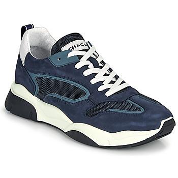 Topánky Muži Nízke tenisky IgI&CO COQUELIA Modrá
