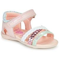 Topánky Dievčatá Sandále Pablosky KINNO Ružová