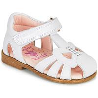 Topánky Dievčatá Sandále Pablosky PAMMO Biela