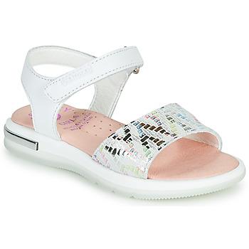 Topánky Dievčatá Sandále Pablosky CAMMI Biela / Viacfarebná