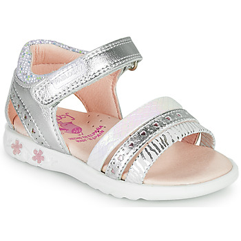 Topánky Dievčatá Sandále Pablosky ELLO Strieborná
