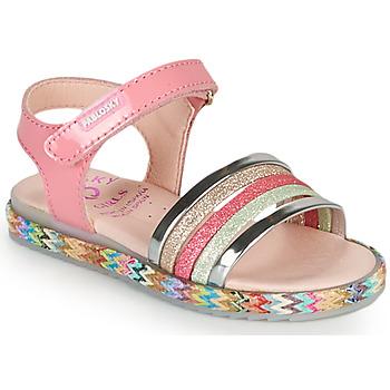 Topánky Dievčatá Sandále Pablosky PANNI Ružová