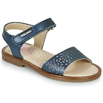 Topánky Dievčatá Sandále Pablosky LILLA Námornícka modrá
