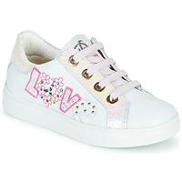 Topánky Dievčatá Nízke tenisky Pablosky AMME Biela / Ružová