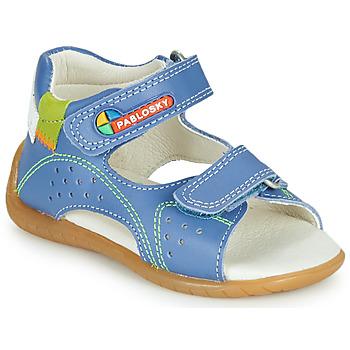 Topánky Chlapci Sandále Pablosky KINNI Modrá