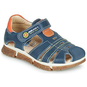 Topánky Chlapci Sandále Pablosky REAL Námornícka modrá