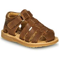 Topánky Chlapci Sandále Citrouille et Compagnie MISTIGRI Ťavia hnedá