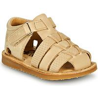 Topánky Chlapci Sandále Citrouille et Compagnie MISTIGRI Béžová