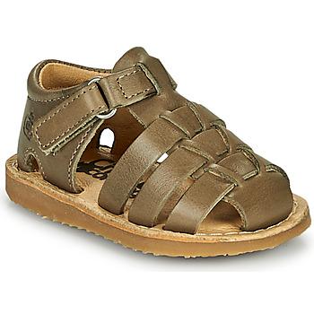 Topánky Chlapci Sandále Citrouille et Compagnie MISTIGRI Kaki