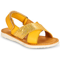 Topánky Dievčatá Sandále Citrouille et Compagnie OVETTE Žltá