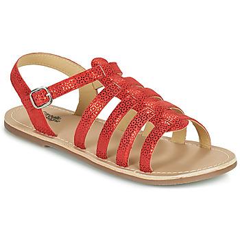 Topánky Dievčatá Sandále Citrouille et Compagnie MAYANA Červená