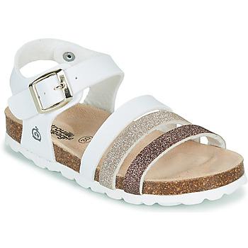 Topánky Dievčatá Sandále Citrouille et Compagnie OMAYA Biela