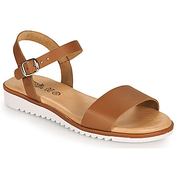 Topánky Dievčatá Sandále Citrouille et Compagnie GLAPOTTI Ťavia hnedá