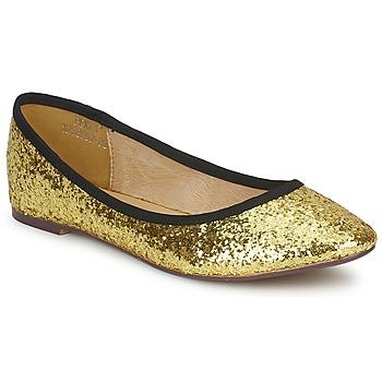 Topánky Ženy Balerínky a babies Friis & Company PERLA Zlatá
