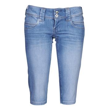 Oblečenie Ženy Nohavice 7/8 a 3/4 Pepe jeans VENUS CROP Modrá