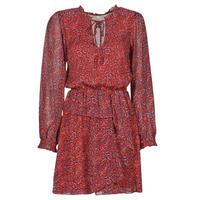 Oblečenie Ženy Krátke šaty Pepe jeans LULIS Červená / Modrá