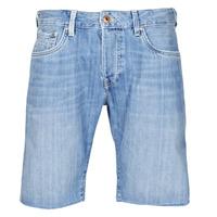 Oblečenie Muži Šortky a bermudy Pepe jeans STANLEU SHORT BRIT Modrá