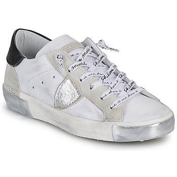 Topánky Ženy Nízke tenisky Philippe Model PARIS Biela