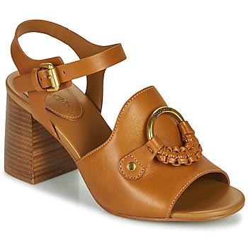 Topánky Ženy Sandále See by Chloé HANA SB3406 Koňaková