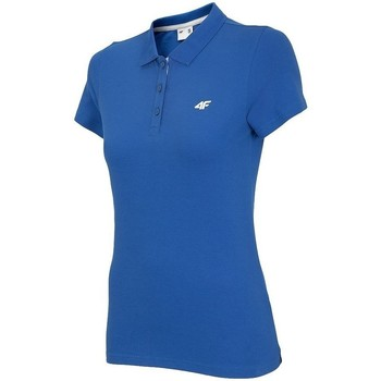 Oblečenie Ženy Polokošele s krátkym rukávom 4F TSD007 Modrá