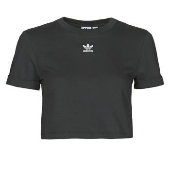 Oblečenie Ženy Tričká s krátkym rukávom adidas Originals CROP TOP Čierna