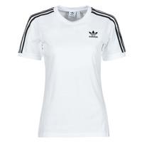 Oblečenie Ženy Tričká s krátkym rukávom adidas Originals 3 STRIPES TEE Biela