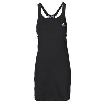 Oblečenie Ženy Krátke šaty adidas Originals RACER B DRESS Čierna