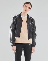 Oblečenie Ženy Vrchné bundy adidas Originals SHORT TRACKTOP Čierna