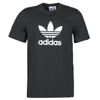 Oblečenie Muži Tričká s krátkym rukávom adidas Originals TREFOIL T-SHIRT Čierna