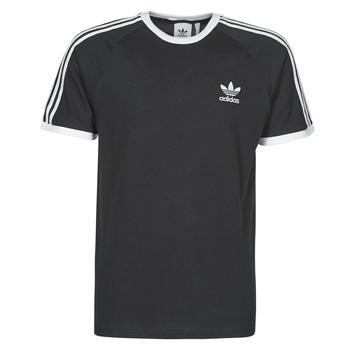 Oblečenie Muži Tričká s krátkym rukávom adidas Originals 3-STRIPES TEE Čierna