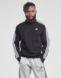 Oblečenie Muži Mikiny adidas Originals 3-STRIPES CREW Čierna