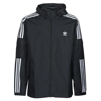 Oblečenie Muži Vetrovky a bundy Windstopper adidas Originals 3-STRIPES WB FZ Čierna