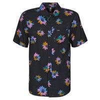 Oblečenie Muži Košele s krátkym rukávom Volcom PLEASURE CRUISE S/S Čierna